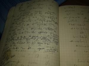 ébauches 2 manuscrit